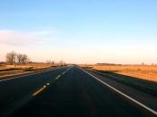 Cruising on highway 81